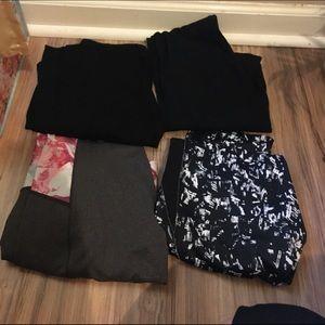 Pants - 4 piece legging bundle